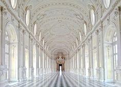 El magnífico Palacio de Venaria, Italia.