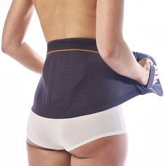 Bederní pás se silikonovou masážní pelotou - LumboSan® plus   SANOMED Gym Shorts Womens, Shopping, Fashion, Moda, Fashion Styles, Fashion Illustrations