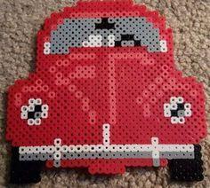 VW bobble i Hama perler. Diy Perler Beads, Perler Bead Art, Pearler Beads, Pearler Bead Patterns, Perler Patterns, Loom Beading, Beading Patterns, Pixel Crochet, Fusion Beads