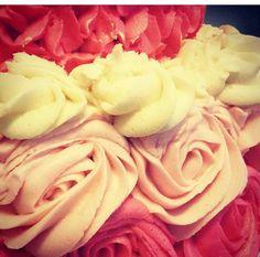 Pretty in Pink #CakesByDani #Customcake #Rosettes