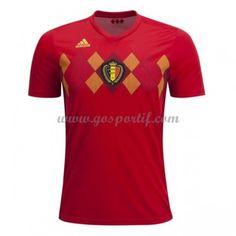 maillot de foot Belgique Coupe du monde 2018 maillot domicile