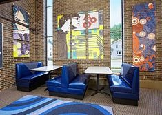 Teens find comfort in an area designed specifically for them at the Waupun Public Library. | DEMCO Library Interiors
