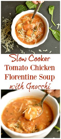 The EASIEST soup EVER!!! And it's so delicious!! A creamy tomato soup ...