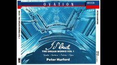 J.S.Bach: Prelude & Fugue in E minor BWV 548 4. Prelude [Hurford-organ]  Ook uit deze uitvoering spreekt de grote klasse van organist Peter Hurford (GB).