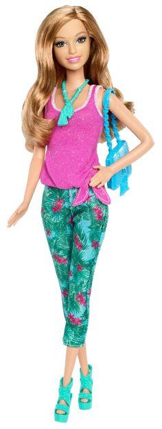 Barbie -Summer Fashionista, muñeca fashion (Mattel BHY15): Amazon.es: Juguetes y juegos