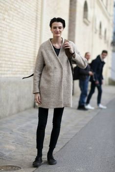 Paris Fashion Week Fall 2015: Models Off Duty