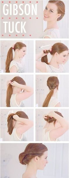 Gibson Tuck - Daily Hairstyles for Medium Hair