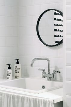 Bathroom - White and black