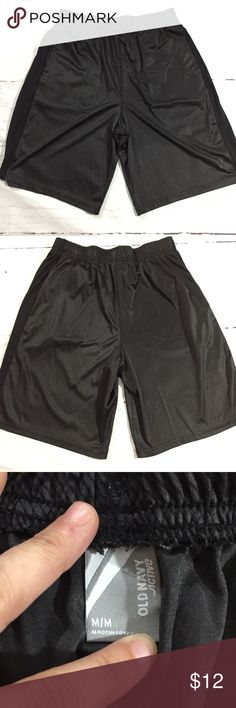 Men's Old Navy Active Athletic Shorts • Men's Old Navy Active Athletic Shorts Black • Medium - length 20 • Polyester  • Nonsmoking home Old Navy Shorts Athletic