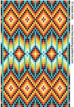 Free Native American Beadwork Patterns   native-american-beadwork-group2-dark-medicine-bag.gif (654×947) bag pattern