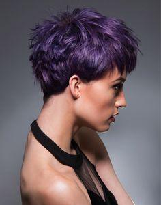 Ultraviolet hair