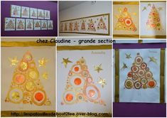 grande section 4 Plus - Mathilde Blanchard Christmas Crafts For Kids, Winter Christmas, Christmas Decorations, Holiday Decor, Cinderella Birthday, Theme Noel, Xmas Cards, Projects For Kids, Images