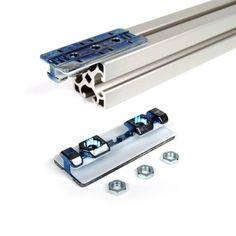 Gleitfuehrung-40x80-fuer-Aluprofil-Nut-8-Gleitschlitten-Gleitschiene-Linearfuehrung