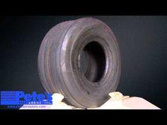 Carlisle Straight Rib Lawn Mower Tire 15x6.00-6