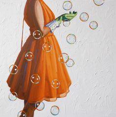 Oil paintings by Kelly Reemsten