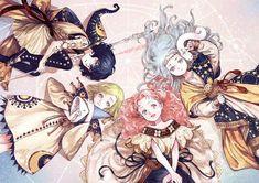 Atelier of Witch Hat, de Kamome Shirahama - El peso del aire Anime Art Girl, Manga Art, Manga Anime, Art Nouveau, Witch Art, Beautiful Anime Girl, Cosplay, Kawaii Anime, Cute Art