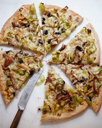 Roasted Chicken and Leek Pizza Recipe - Grace Parisi | Food & Wine