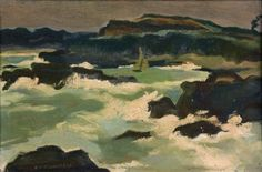 Rochers en Bretagne - Lucien Fontanarosa