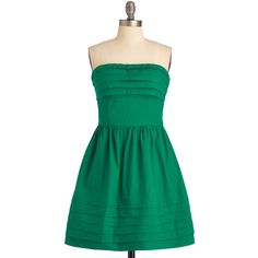What a Keeper Dress in Green ($73) found on Polyvore