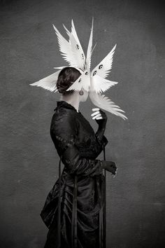 It's Dark In Here: The Images of Elisa Lazo — The Angelic Host Model:rhienium Muah:... Look Dark, Bizarre, Arte Horror, Character Design Inspiration, Fantasy Characters, Dark Art, Art Inspo, Art Reference, Fantasy Art