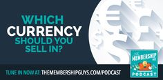 Running a membership outside of the US? Not sure what currency to price in? This episode is for you. Competitor Analysis, Online Courses, The Outsiders, Success, Study, Running, How To Plan, Amazing, Inspiration