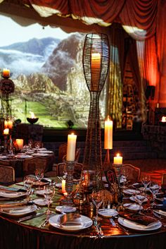 Latin America, Tablescapes, Special Events, Backdrops, Around The Worlds, Table Decorations, Full Moon, Aztec, Maya