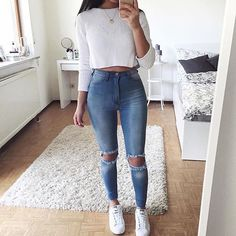 YES OR NO!? ❤️ Tag Your Friends! Via @getoutfits! #fashion #beautiful #pretty #ootd #outfit #adidas #goals