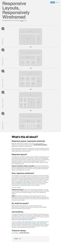 Et quand mon site s'affiche sur un écran mobile, que se passe-t-il ? Comment mes contenus sont-ils réorganisés ? Ce schéma interactif vous permet de découvrir en un clic le passage d'un grand écran d'ordinateur à un écran mobile et ses implications sur l'organisation des blocs de contenus. [Infographie - James Mellers]