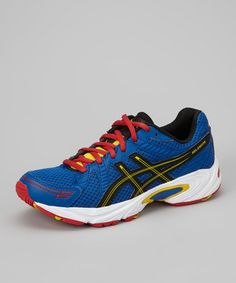 Take a look at this Royal Blue & Red Gel-Excite GS Running Shoe by ASICS on #zulily today!