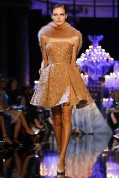 Elie Saab Couture Fall Winter 2014 Paris - NOWFASHION