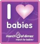 I am walking for my preemie baby! March of Dimes - Anchorage AK. (Saturday- May, 19 @ Westchester) Here is my team website join or donate. http://www.marchforbabies.org/team/t1830437