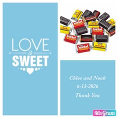 Got the candy itself and the sticker labels from orientaltrading.com Candy-$55.93 Sticker labels-$57.33 Love Is Sweet, Event Planning, Party Favors, Sticker, Candy, Stickers, Sweets, Princess Party Favors, Decal