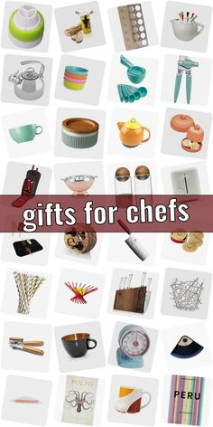 Your best friend is a vehement kitchen fairy and you love to give her a worthy gift? But what might you choose for hobby chefs? Practical kitchen gadgets are the right choice.  Special gift ideas for eating, drinks and serving. Products that gladden little gourmets.  Get Inspired - and spot a suitable present for hobby chefs. #giftsforchefs