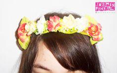 #flowercrown #flowers #headband #vincha #corona #crown #fashion #primavera #spring #woman #hair #crown #flower #accessories #roses