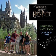 Harry Potter Digital Scrapbooking | ... World of Harry Potter Title Page - Digital Scrapbook Place Gallery
