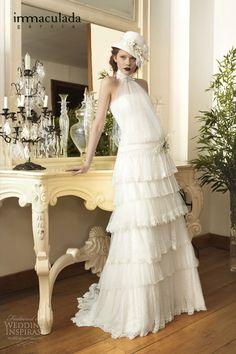 Inmaculada García 2014 Wedding Dresses — Savanna Tales Bridal Collection | Wedding Inspirasi