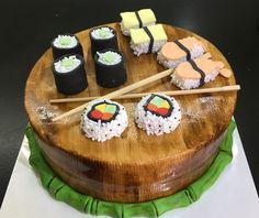 Sushi taart, juli 2016