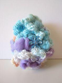 Freeform crochet. Easter egg