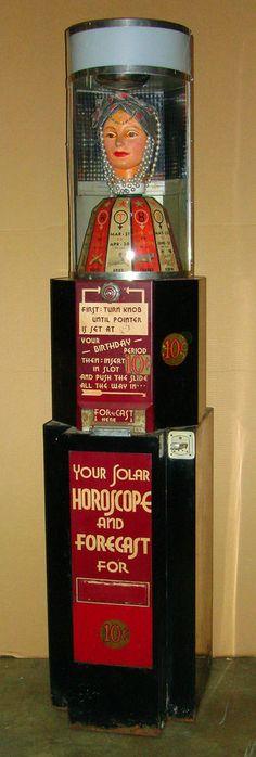 Peerless Fortune Teller, Arcade, Coin-op Machine