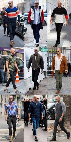 45 Best Fashion For Bald Men Images Man Fashion Man Style Bald