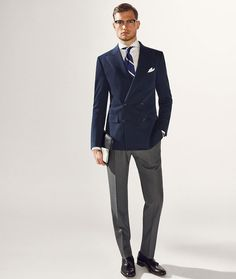 Men's Outfit Inspiration Lookbook - Tweed/Wool Blazer + Jeans