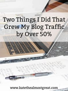I did a lot of things in March to grow my blog traffic, but there are two key things I did that I know for a fact contributed to growing my traffic by over 50%. Check them out, as well as the other things that I did, so you can grow your traffic, too.