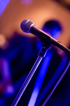 - Microphone on Stand - #music #microphone #mic #voice #sound #audio http://www.pinterest.com/TheHitman14/headphones-microphones-%2B/