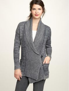 LOVE this slouchy cardi from GAP.