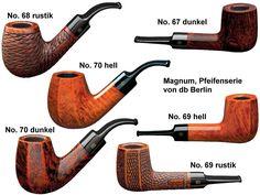 Magnum, Pfeifenkollektion von db Berlin