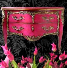 Hot pink bombay chest