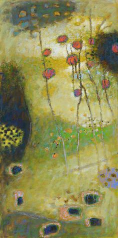 Cross Currents | oil on canvas | 72 x 36"