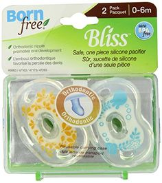 Born Free BPA-Free Bliss Orthodontic Pacifier, Neutral, 0-6M - Deal Summer http://dealsummer.com/born-free-bpa-free-bliss-orthodontic-pacifier-neutral-0-6m/