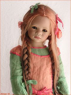Maliwi has arrived, by MiriamBJDolls, via Flickr (doll by Himstedt, a repin with the previous text)