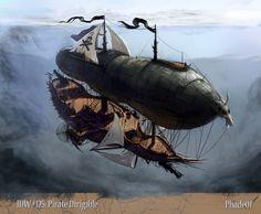 Pirate Dirigable by Phade01
